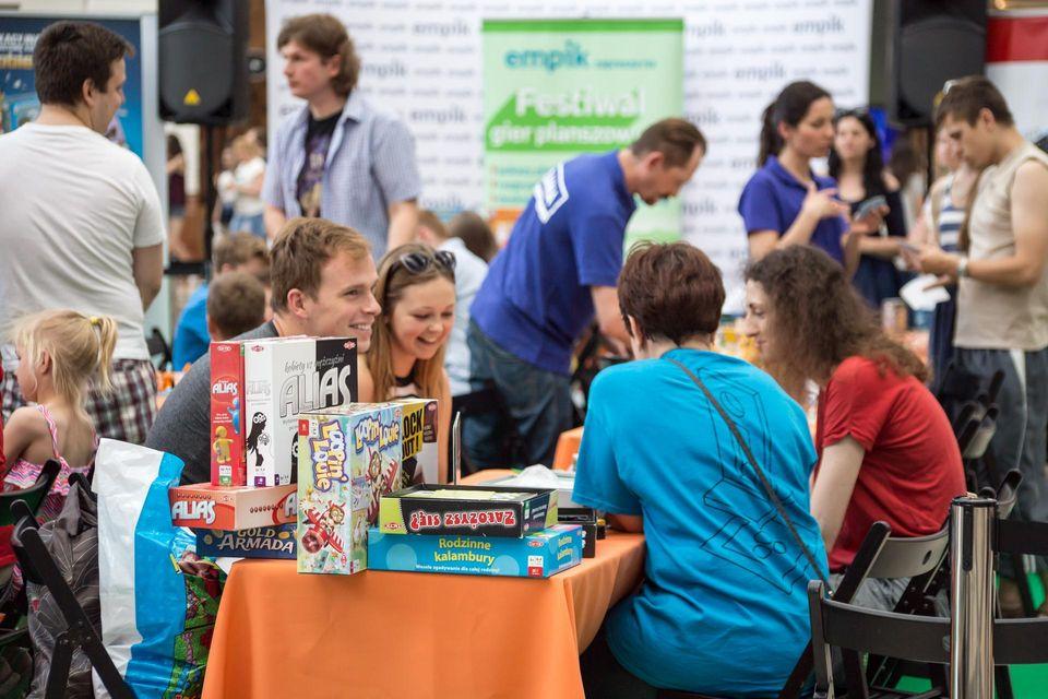 Znalezione obrazy dla zapytania festiwal gier planszowych empik