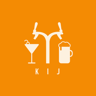fot. mat. Logo KIJ - Multitap & Cocktail Bar