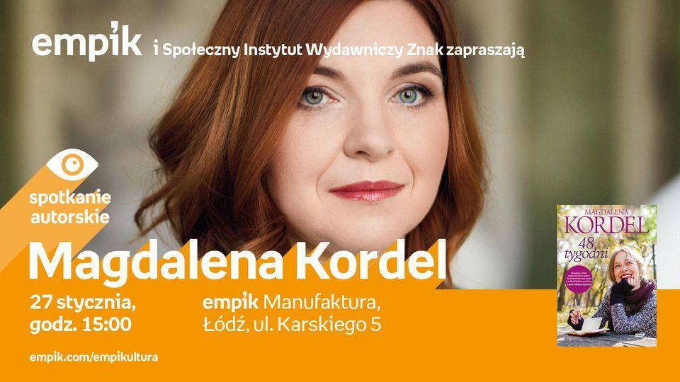 7a7cbf308b788 Magdalena Kordel jest autorką wielu bestsellerowych książek o tematyce  kobiecej. Jej powieści sprzedały się do tej pory w nakładzie ponad 250 tys.  ...