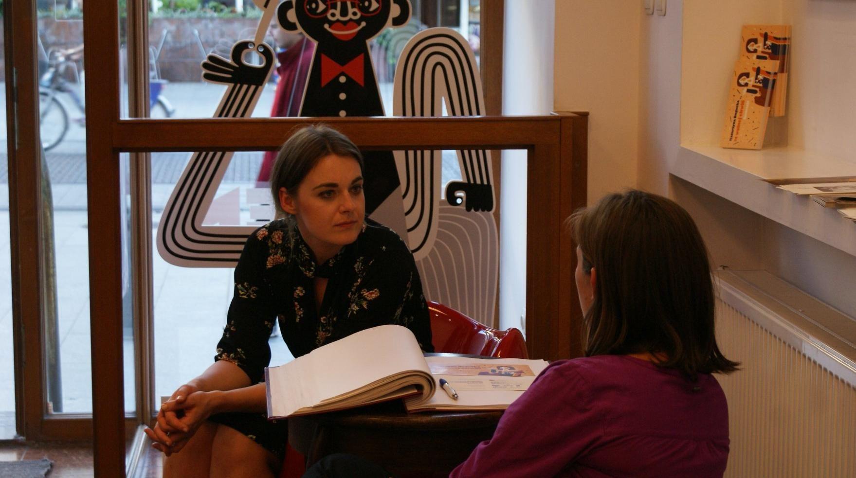 Katarzyna Bogucka W Wolnej Chwili Wystawa W Galerii Re