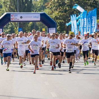 Start biegu Łódź Business Run 2016 -  fot. z arch. UMŁ